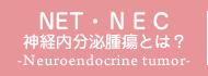 NET 神経内分泌腫瘍とは?